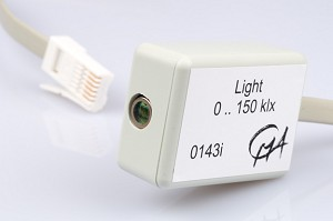 Lichtsensor (0-150 000 lux) is vervangen door BT50i