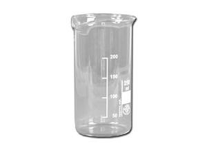 Bekerglas, 250 ml, hoog