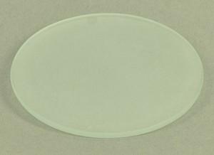 Dekglas, rond, D = 75 mm