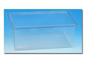 Plastic bak, circa 260 x 160 x 100 mm