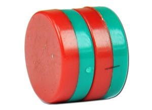Magneten, knoopcel, paar
