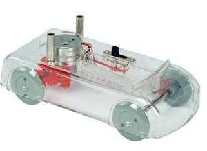 Elektrische auto model