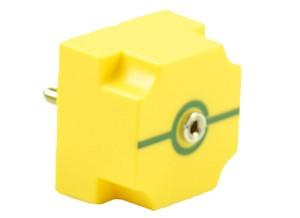 EIC verbinding met jack-aansluiting, max. 10 kOhm