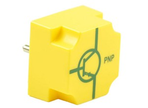 EIC transistor PNP, basis links