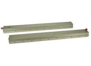 Rails en optische bank, 2 x 50 cm