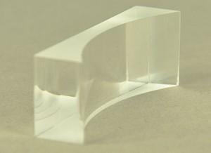 Lens, acryl, vlak-hol