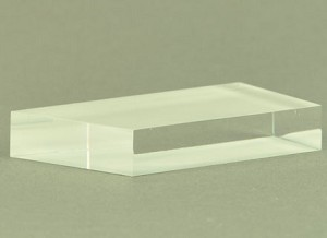 Prisma acryl trapezoid vorm