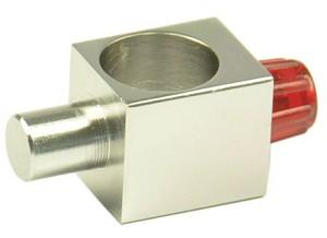 Houder voor krachtmeters en reageerbuizen