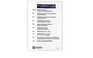 Schoollicentiecertificaat LEGO® Robolab v2.9 (Let op: bevat géén software!)