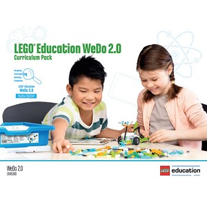 LEGO® Education WeDo 2.0 Curriculum Pack NB: deze software is gratis te downloaden via https://education.lego.com/en-us/downloads