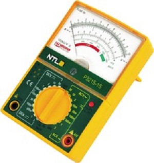 Multimeter analoog (100 mV - 30 V)