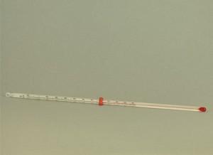 Thermometer -20...+110/1 °C, alc., met schaalverdeling