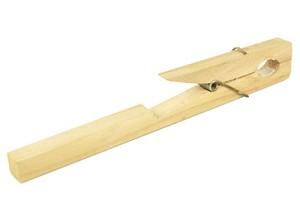 Reageerbuishouder, hout, 10 - 30 mm