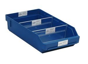 Lade, 400x240x95mm, blauw