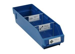 Lade, 400x120x95mm, blauw