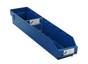 Lade, 600x120x95mm, blauw