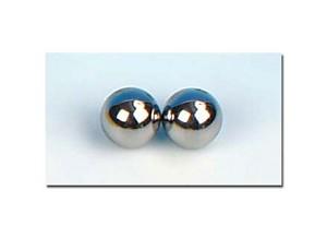 """Stalen bollen ½"""" (12,7 mm) set van 2"""