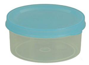Plastic capsule met deksel, D = 75 mm