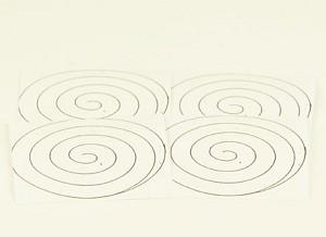 Spiralen voor stralingswarmte, set van 5