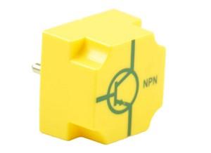 EIC transistor NPN, basis links