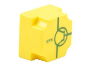 EIC transistor NPN, basis rechts