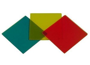 Kleurenfilters set, subtractief