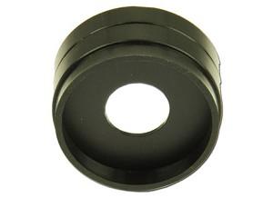 Cirkelvormig schermpje, met plastic rand, D = 20 mm