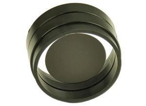Cirkelvormige schijf, met plastic rand, D = 34 mm
