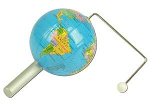 Model aarde-maan