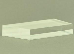 Prisma, acryl, trapezoid vorm
