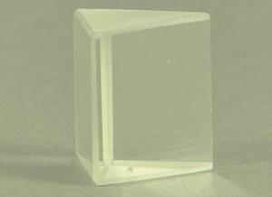 Prisma, gelijkzijdig, glas