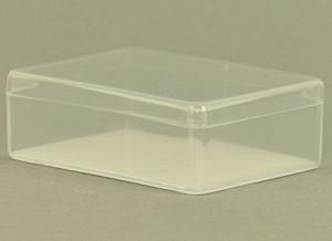Plastic tank, transparant